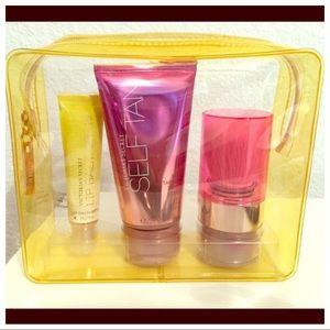 Victoria's Secret Glow to go Bronzing Kit 4pc Set